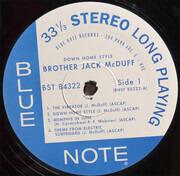 LP - Brother Jack McDuff - Down Home Style - still sealed, gatefold