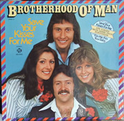 LP - Brotherhood Of Man - Save Your Kisses For Me - Pink Label