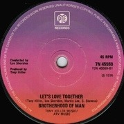 7'' - Brotherhood Of Man - Save Your Kisses For Me - Solid centre