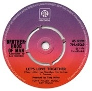 7'' - Brotherhood Of Man - Save Your Kisses For Me - Push-out Centre