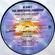 LP - The Brothers Johnson - Blam!!