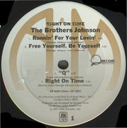 LP - The Brothers Johnson - Right On Time - still sealed