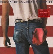 LP - Bruce Springsteen - Born In The U.S.A. - sunburst labels