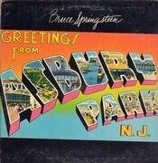 LP - Bruce Springsteen - Greetings From Asbury Park, N. J. - Post Card cover