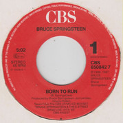 7inch Vinyl Single - Bruce Springsteen & The E-Street Band - Born To Run