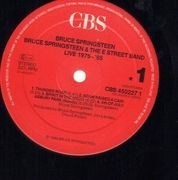 LP-Box - Bruce Springsteen & The E-Street Band - Live / 1975-85 - 5 LPs, + booklet