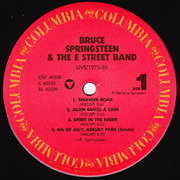 LP-Box - Bruce Springsteen & The E-Street Band - Live / 1975-85 - RCA Indianapolis Pressing