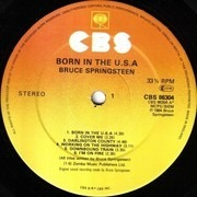 LP - Bruce Springsteen - Born In The U.S.A.
