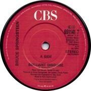 7inch Vinyl Single - Bruce Springsteen - Brilliant Disguise / Lucky Man (Vinyl Single)