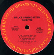 Double LP - Bruce Springsteen - The River - Santa Maria Pressing