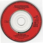 CD - Bruce Springsteen - Tougher Than The Rest - 3' CD with free adapter