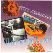 7inch Vinyl Single - Bruce Springsteen - Tunnel Of Love - Large Center Hole