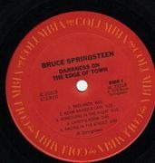 LP - Bruce Springsteen - Darkness On The Edge Of Town - LYRICS SHEET incl.