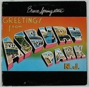 LP - Bruce Springsteen - Greetings From Asbury Park, N. J.