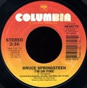 7'' - Bruce Springsteen - I'm On Fire