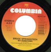 7'' - Bruce Springsteen - My Hometown