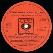 LP - Bruno Walter Dirigiert Wolfgang Amadeus Mozart - Requiem D-Moll KV 626