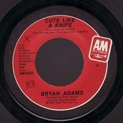 7inch Vinyl Single - Bryan Adams - Cuts Like A Knife