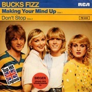 7'' - Bucks Fizz - Making Your Mind Up