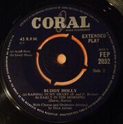 7inch Vinyl Single - Buddy Holly - Buddy Holly - Orange Sleeve
