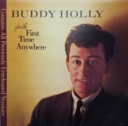 LP - Buddy Holly - For The First Time Anywhere - Gloversville