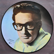 12inch Vinyl Single - Buddy Holly - Portrait In Music - Picture Record Number Two - Still sealed, Mono, Picture disc