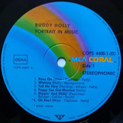 Double LP - Buddy Holly - Portrait In Music - Gatefold Sleeve