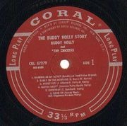 LP - Buddy Holly - The Buddy Holly Story
