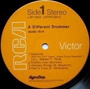 LP - Buddy Rich - A Different Drummer - Dynaflex