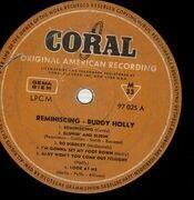 LP - Buddy Holly - Reminiscing - GERMAN MONO