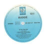 LP - Budgie - In For The Kill! - White Vinyl