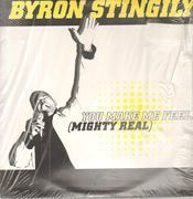 12inch Vinyl Single - Byron Stingily - You Make Me Feel (Mighty Real)