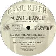 12inch Vinyl Single - C-Murder - A 2nd Chance