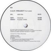 12inch Vinyl Single - C.O.P. Project - Pornostar