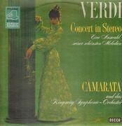 LP - Camarata w/ Kingsway Symphony Orchestra - Verdi Concert In Stereo: Eine Auswahl Seiner Schönsten Melodien - Phase 4 Stereo