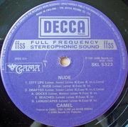 LP - Camel - Nude - UK A1 B2