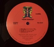 LP - Camel - Rain Dances