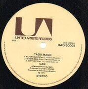 Double LP - Can - Tago Mago - Original UK, Envelope Cover, Pokora 6001