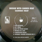 LP - Canned Heat - Boogie With Canned Heat - Still Sealed
