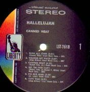 LP - Canned Heat - Hallelujah