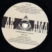 LP - Canned Heat - Vintage