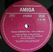 LP - Cannonball Adderley - John Coltrane - Amiga Edition