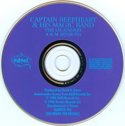 CD - Captain Beefheart And His Magic Band - The Legendary A & M Sessions