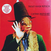 Double LP - Captain Beefheart And His Magic Band - Trout Mask Replica - Red Translucent