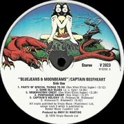 LP - Captain Beefheart And The Magic Band - Bluejeans & Moonbeams - Dragon Labels