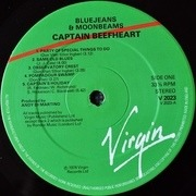 LP - Captain Beefheart And The Magic Band - Bluejeans & Moonbeams - Red/Green Labels