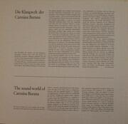LP - Carl Orff - Gundula Janowitz · Gerhard Stolze · Dietrich Fischer-Dieskau / Chor Der Deutschen Oper - Carmina Burana - Gatefold