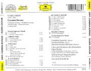 CD - Carl Orff (Jochum) - Carmina Burana