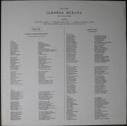 LP - Carl Orff - Rafael Frühbeck De Burgos , Wilhelm Pitz , Philharmonia Orchestra , Lucia Popp , Gerhar - Carmina Burana, Cantiones Profanae