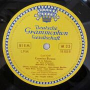 LP - Carl Orff / Elfride Trötschel · Paul Kuen · Hans Braun · Karl Hoppe · Chor Des Bayerischen Rundfunk - Carmina Burana